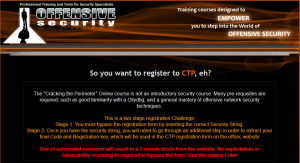 OSCE & CTP - The dreaded certification by Offensive Security