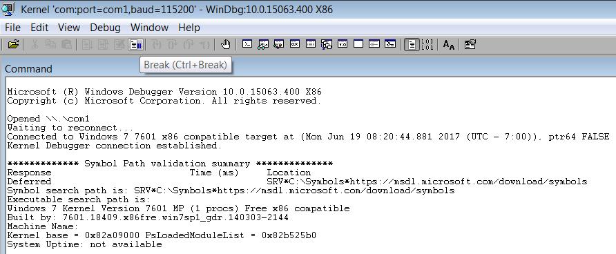 Windows Kernel Exploitation Tutorial Part 1: Setting up the